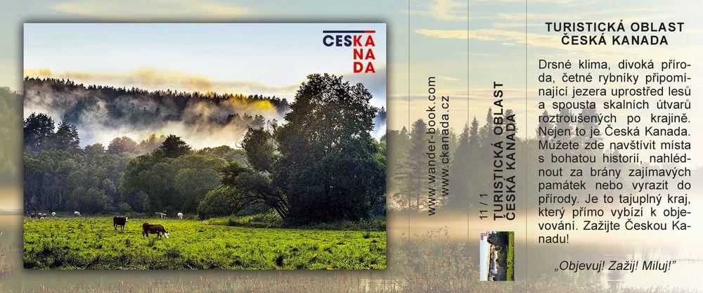 Turistická oblast Česká Kanada