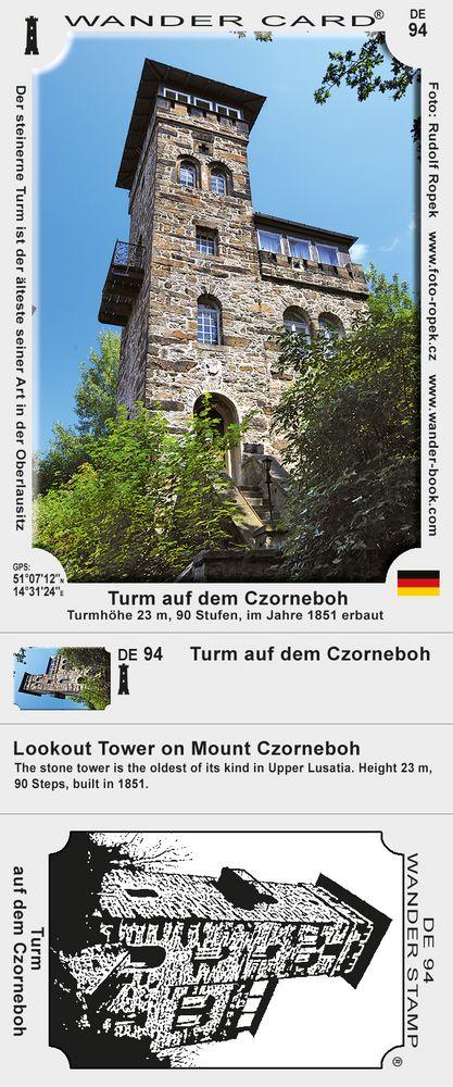 Turm auf dem Czorneboh