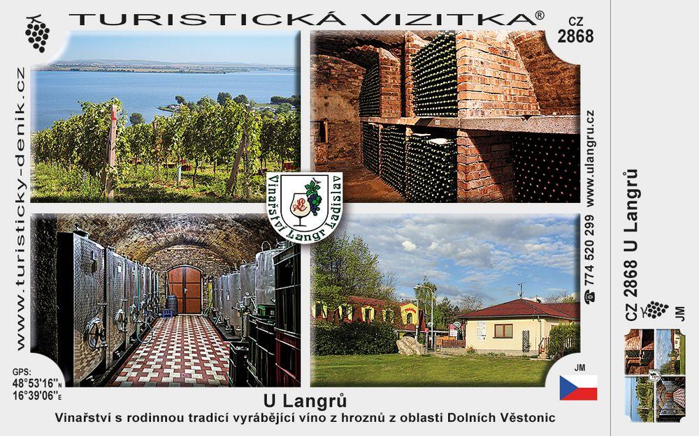 Vinařství LANGR Ladislav