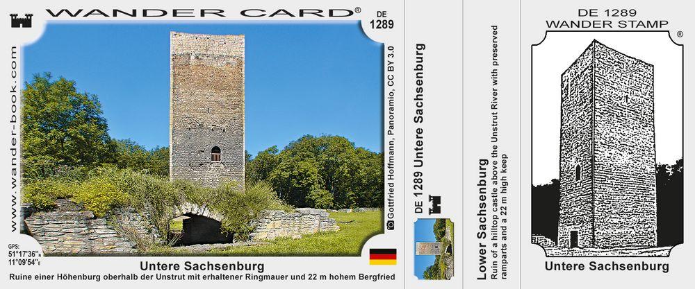 Untere Sachsenburg
