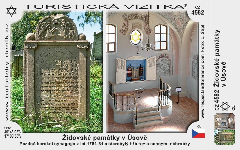 Úsov židovské památky