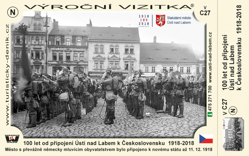 Ústí nad Labem 100 let Československa