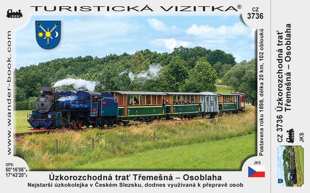 Úzkorozchodná trať Třemešná - Osoblaha