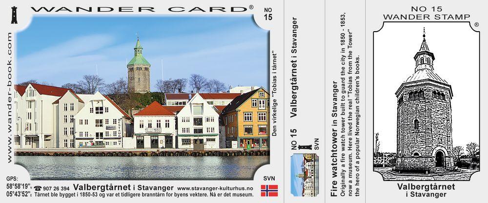 Valbergtarnet  i Stavanger