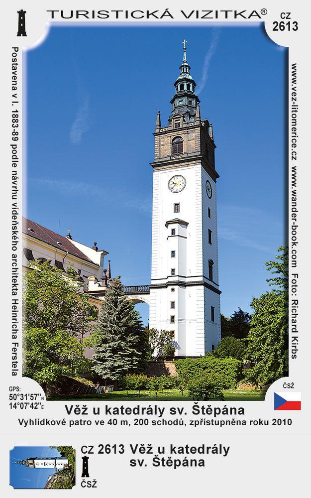 Věž u katedrály sv. Štěpána