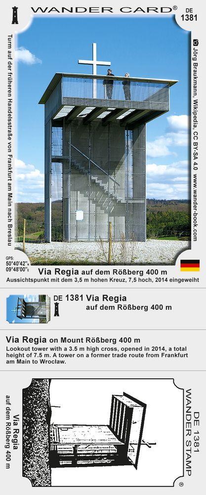 Via Regia auf dem Rößberg