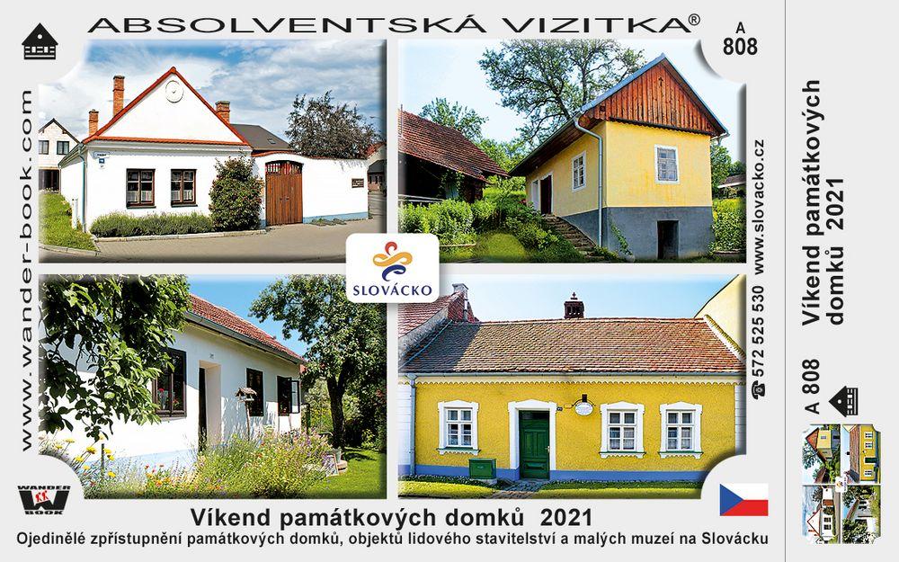 Víkend památkových domků  2021