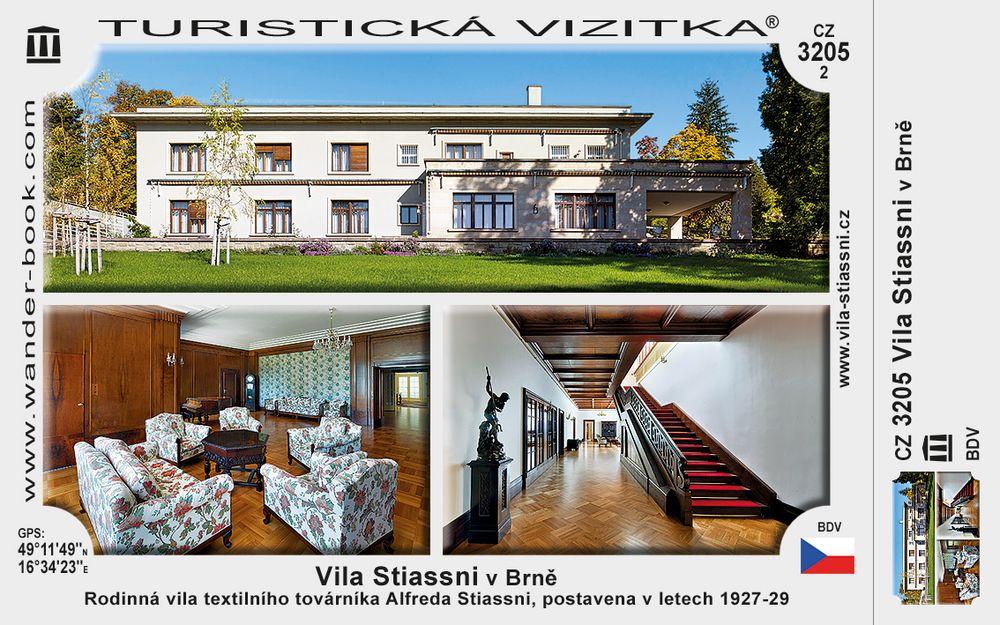 Vila Stiassni v Brně