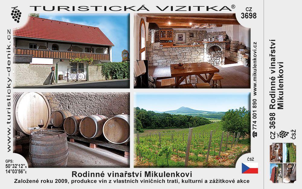 Vinařství Mikulenkovi