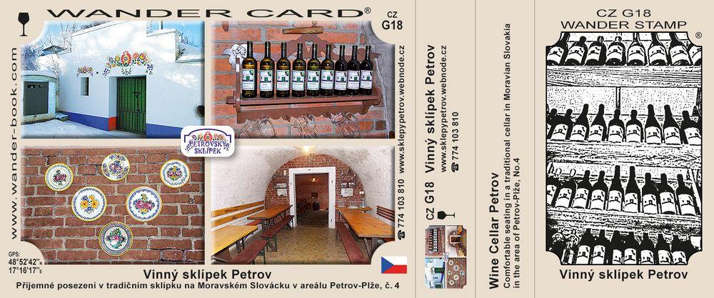 Vinný sklípek Petrov