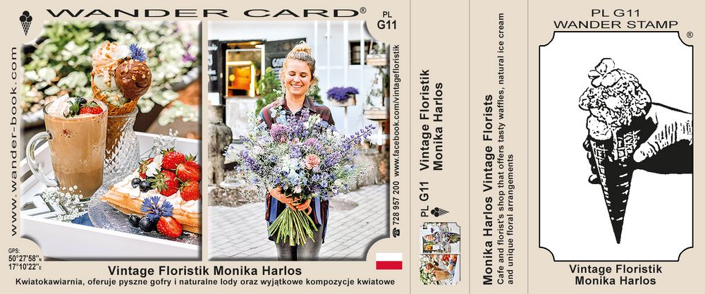 Vintage Floristik Monika Harlos