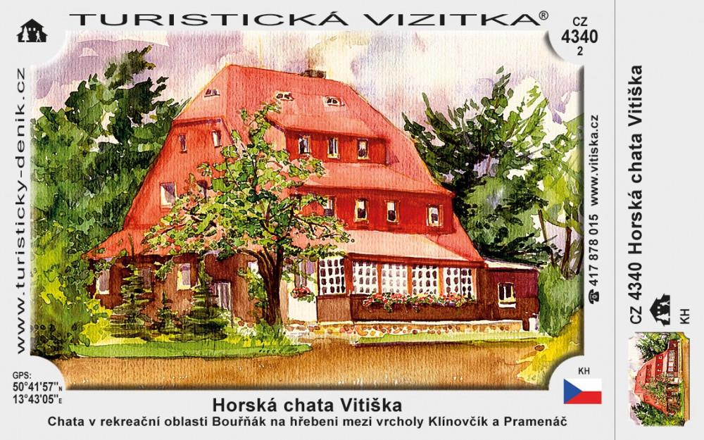 Horská chata Vitiška