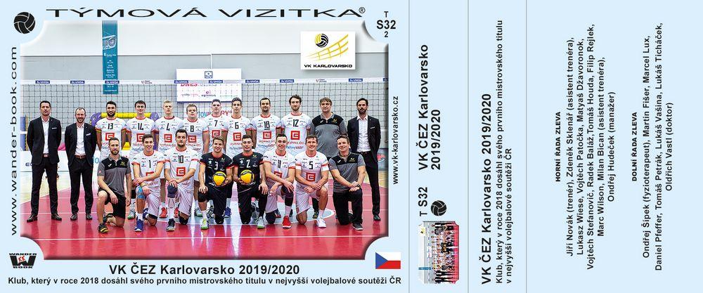 VK ČEZ Karlovarsko 2019/2020