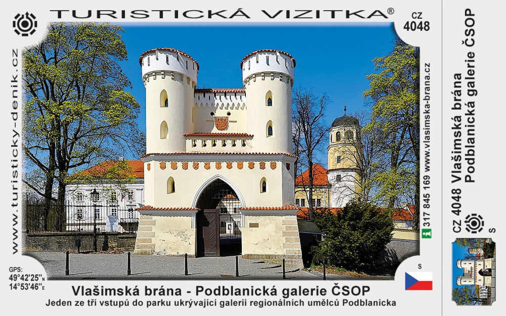 Vlašimská brána - Podblanická galerie ČSOP