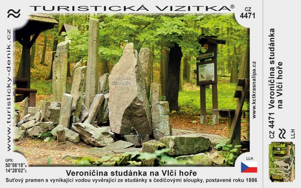 Vlčí hora Veroničina studánka