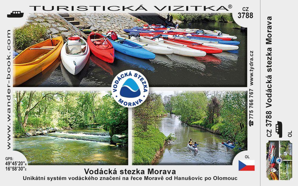 Vodácká stezka Morava