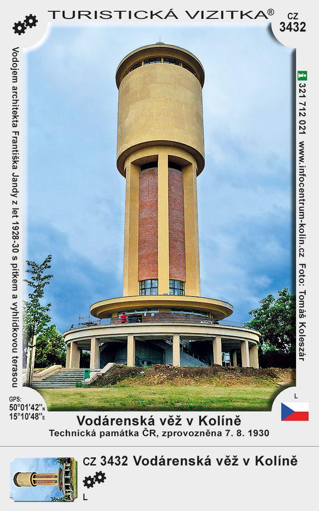 Vodárenská věž v Kolíně