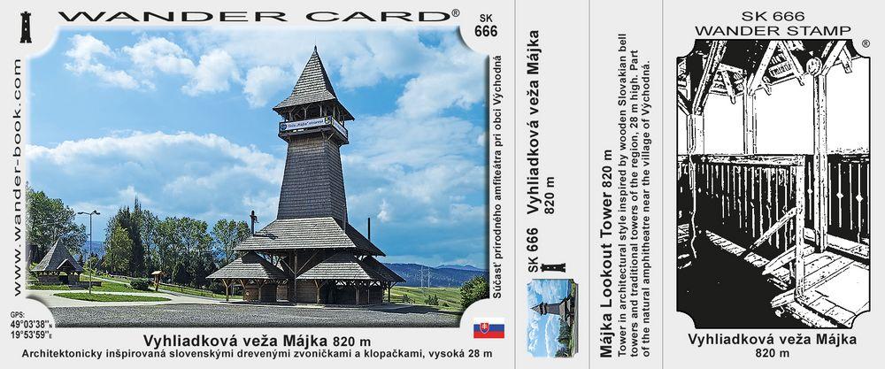 Vyhliadková veža Májka