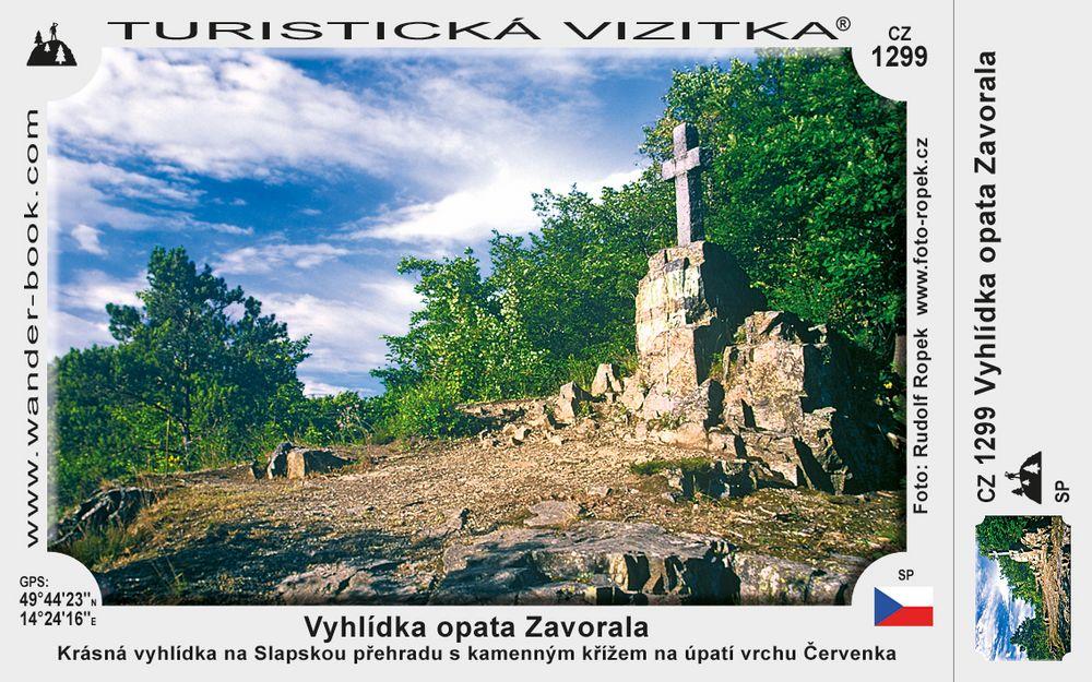 Vyhlídka opata Zavorala