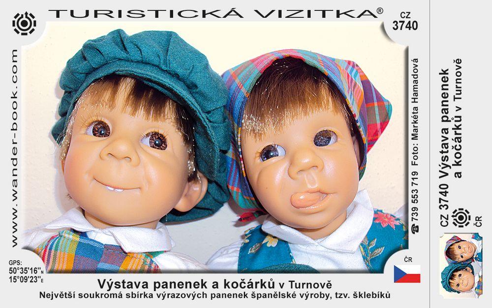 Výstava panenek a kočárků v Turnově