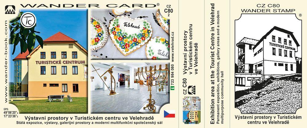 Výstavní prostory v Turistickém centru ve Velehradě