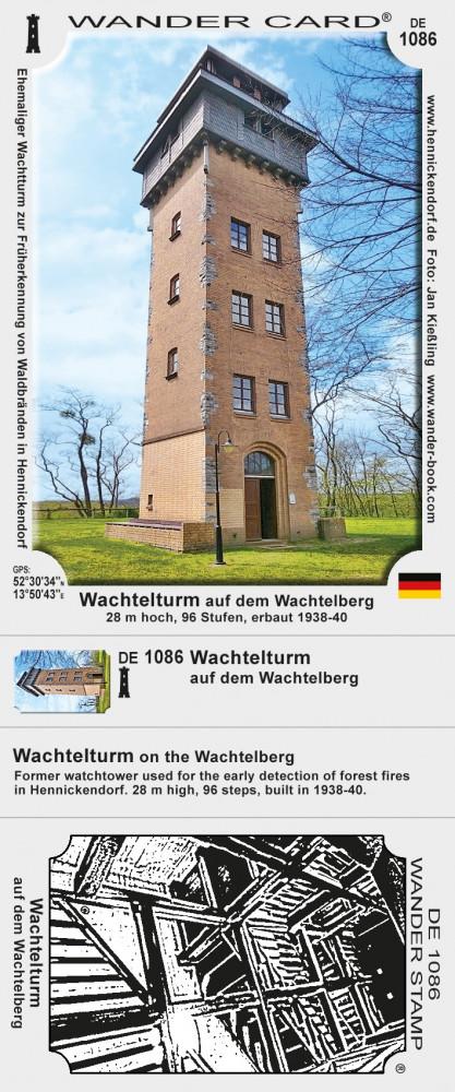 Wachtelturm auf dem Wachtelberg