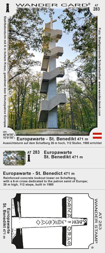Europawarte - St. Benedikt