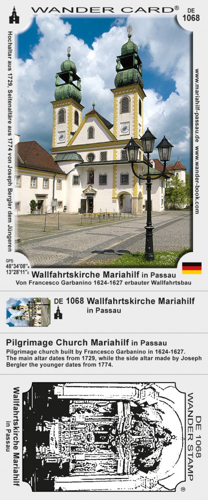 Wallfahrtskirche Mariahilf in Passau