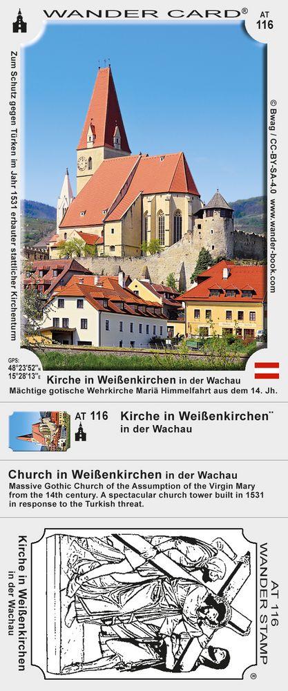 Kirche in Weißenkirchen in der Wachau