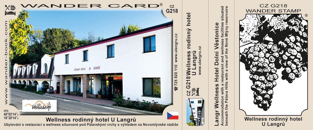 Wellness rodinný hotel U Langrů