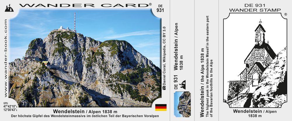 Wendelstein / Alpen