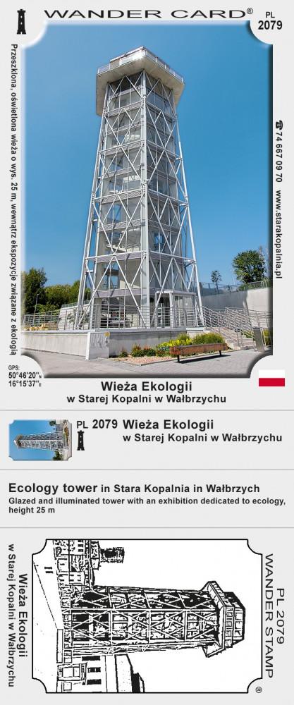 Wieża Ekologii w Starej Kopalni w Wałbrzychu