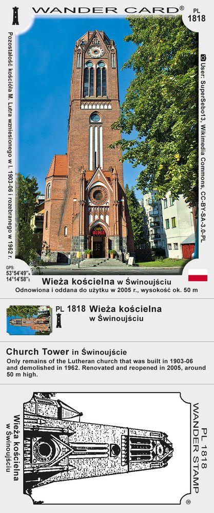 Wieża kościelna w Świnoujściu