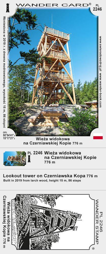 Wieża widokowa na Czerniawskiej Kopie