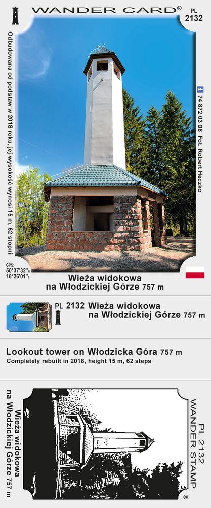 Wieża widokowa na Włodzickiej Górze