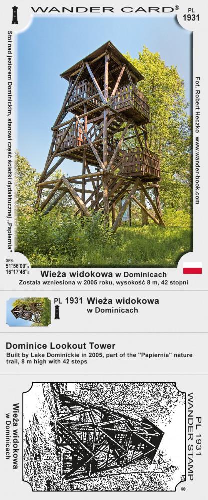 Wieża widokowa w Dominicach