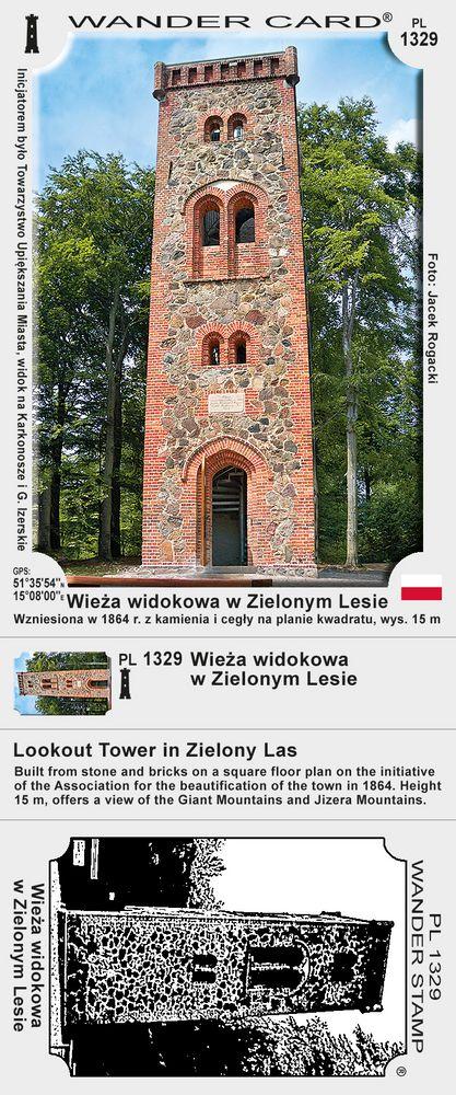 Wieża widokowa w Zielonym Lesie