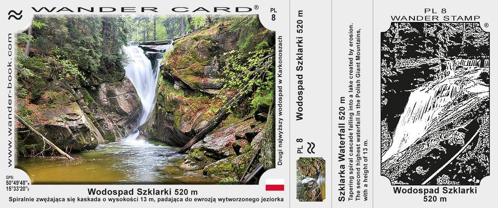 Wodospad Szklarki