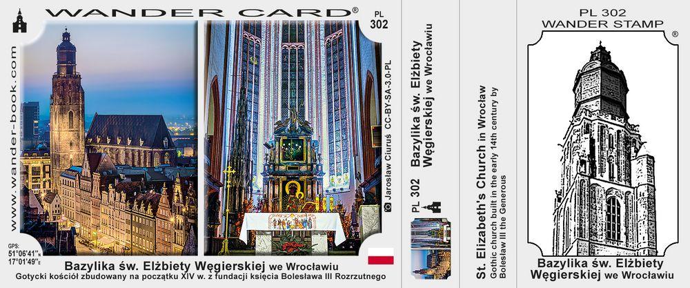 Wrocław bazylika św. Elżbiety