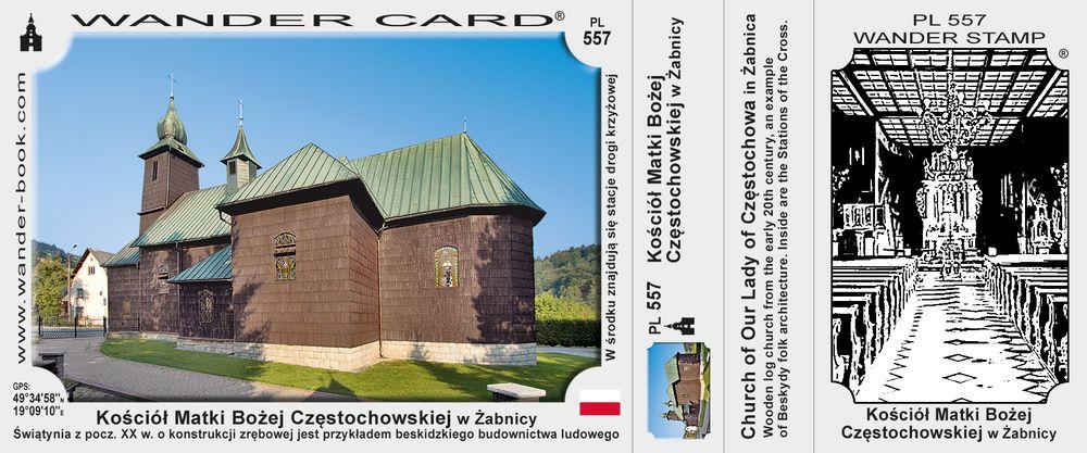 Żabnica kościół MB Czestochowskiej