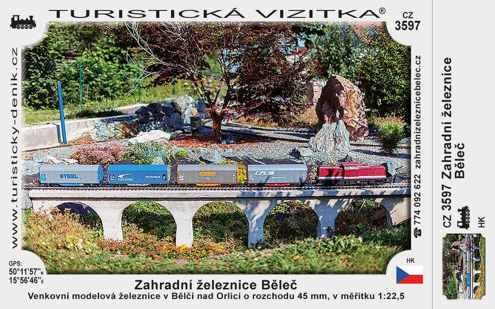 Zahradní železnice Běleč