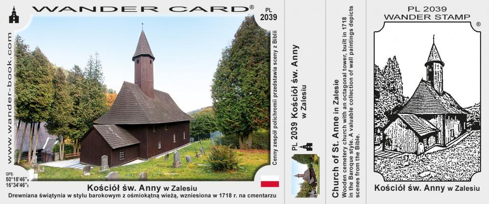 Kościół św. Anny w Zalesiu