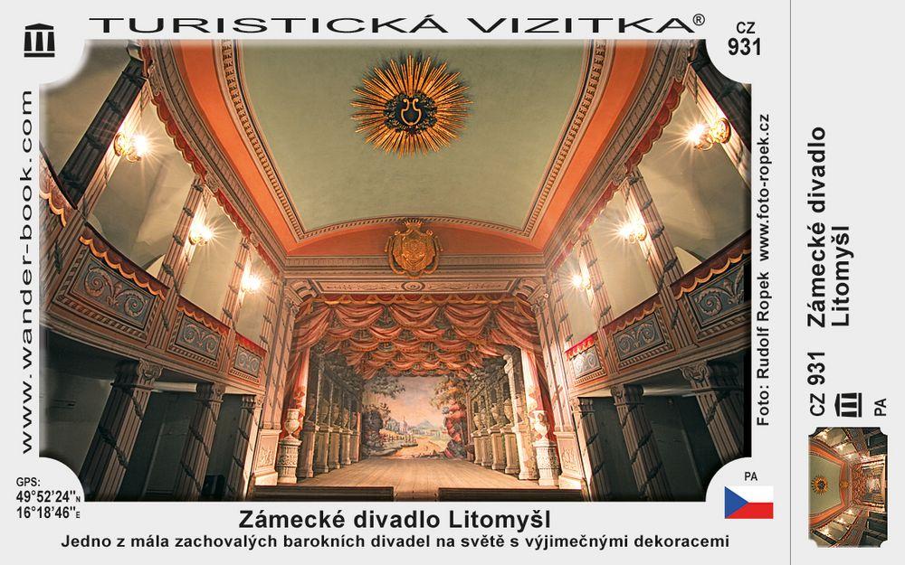 Zámecké divadlo Litomyšl