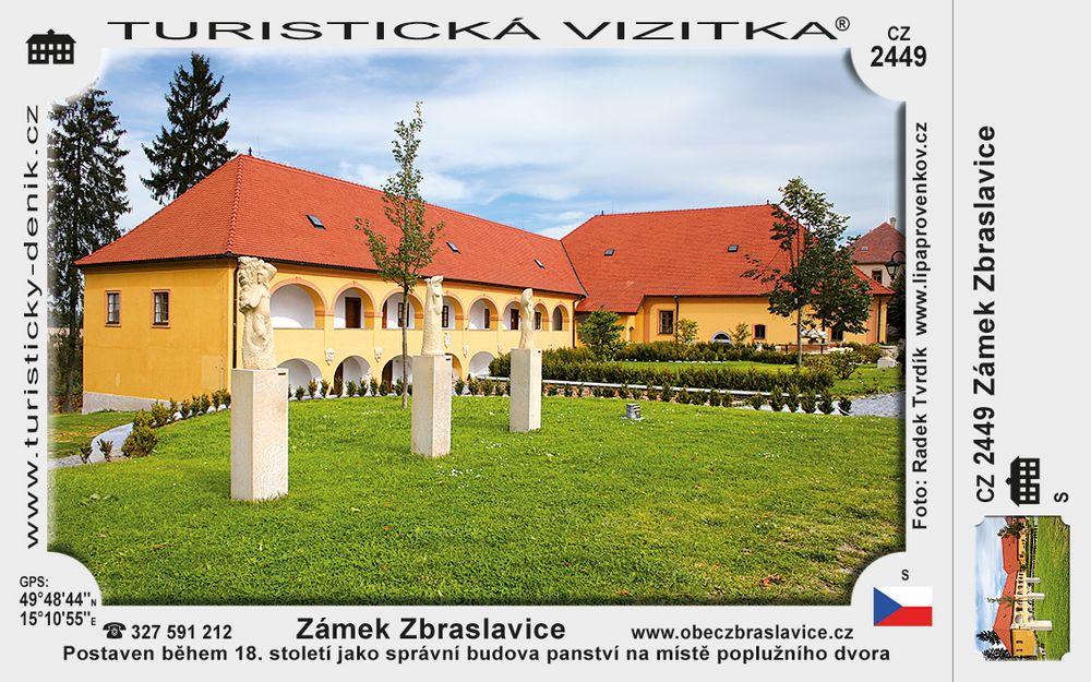 Zámek Zbraslavice