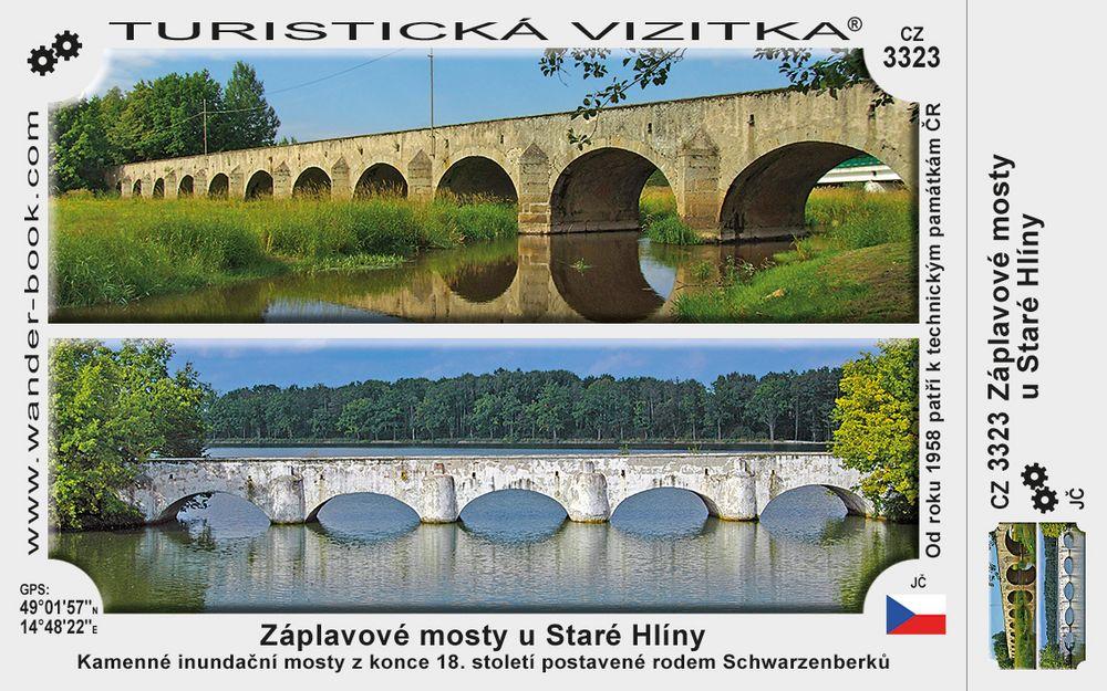 Záplavové mosty u Staré Hlíny