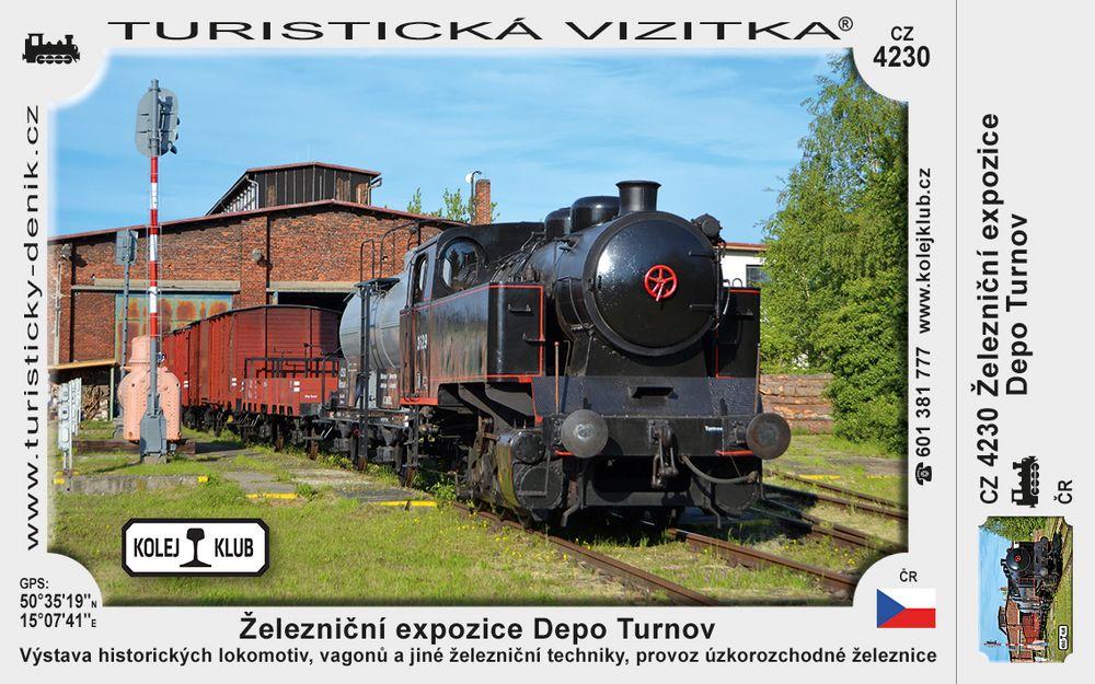 Železniční expozice Depo Turnov