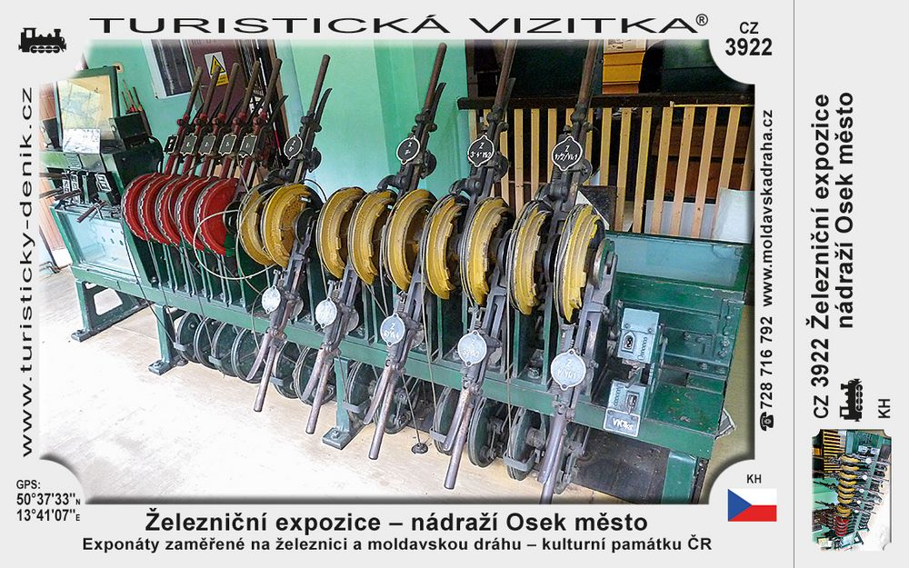 Železniční expozice - nádraží Osek město