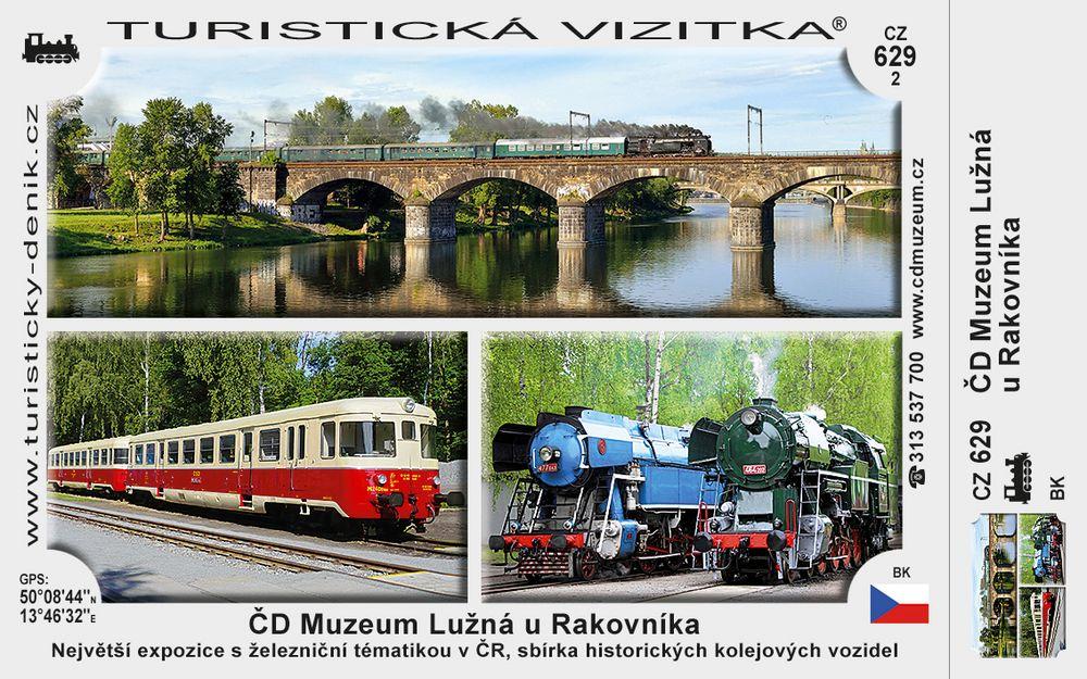 Železniční muzeum Českých drah Lužná u Rakovníka