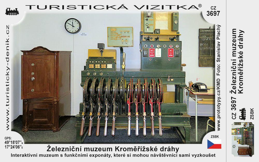 Železniční muzeum Kroměřížské dráhy