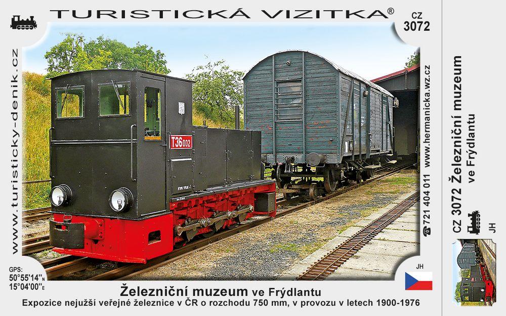 Železniční muzeum ve Frýdlantu